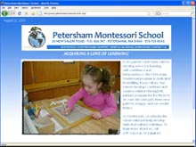 montessori school website