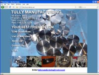 tulle mfg home page